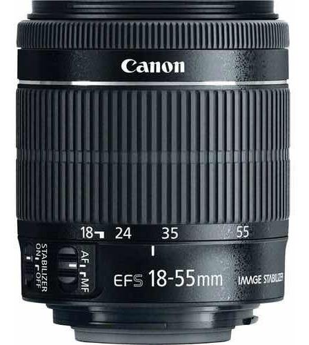 Lente Canon Ef-s 18-55mm3.5-5.6 Is Stm