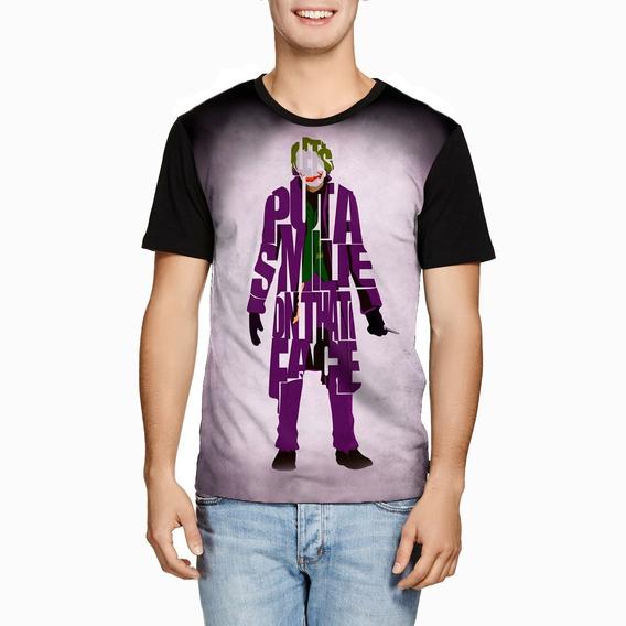 Camiseta Coringa Batman The Dark Knight