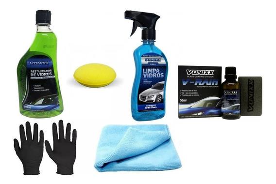 Kit Removedor Chuva Ácida Limpa Vidros V-rain Vonixx