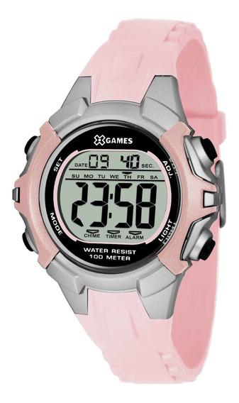 Relógio X Games Feminino Xfppd053 Bxrx Rosa - Refinado