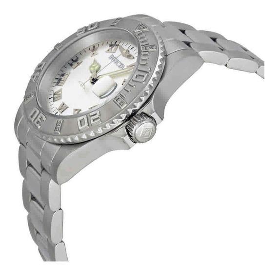 Invicta Feminino Pro Diver 12819 40mm Maq Suiça 15 Diamante