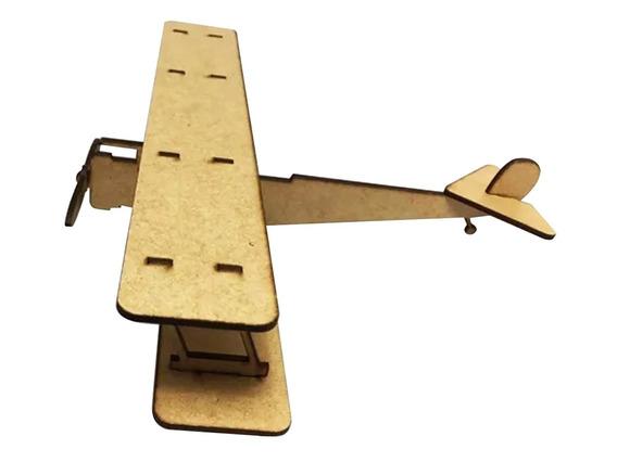 Aviao Miniatura Brinquedos Antigos Madeira 0435