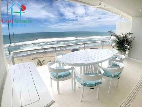 Cad Playamar Diamante T2 802. Terraza Con Vista Al Mar