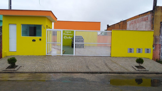 Casa Em Condomínio , À 600 Metros Da Praia- Ref-ca33