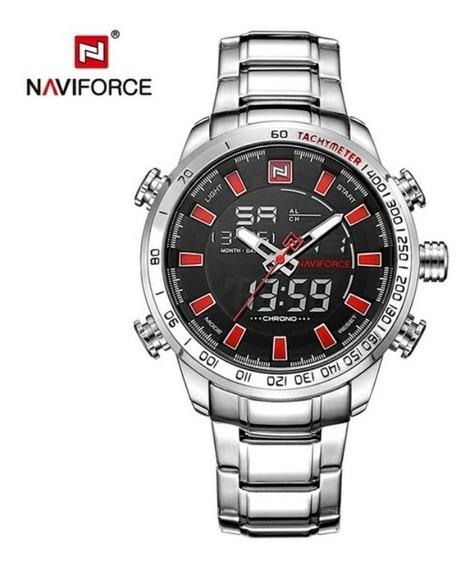 Relógio De Marca Luxo Naviforce