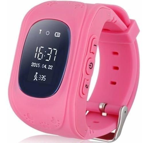 Relógio Rastreador Q50 Criança Localizador Gps Infantil