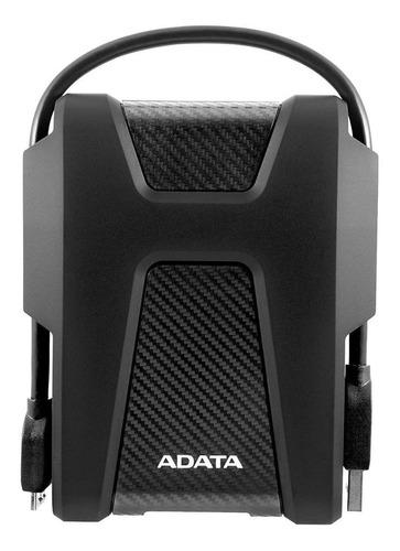 Imagen 1 de 4 de Disco duro externo Adata DashDrive Durable HD680 AHD680-1TU31 1TB negro