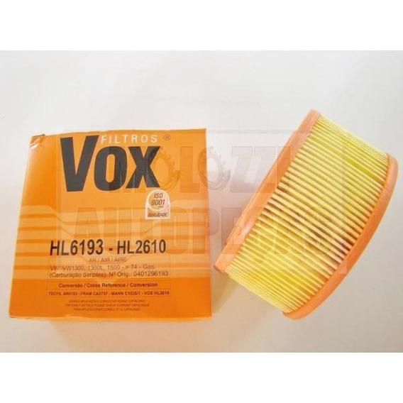 Filtro De Ar Do Fusca Vox Hl2610