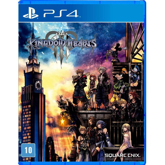 Kingdom Hearts Iii Ps4 Mídia Física Novo Lacrado Original