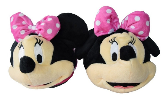 Pantuflas Addnice Minnie Dots Jr