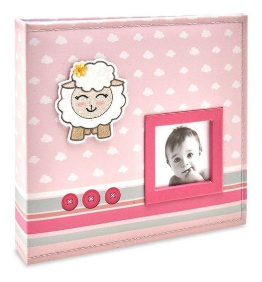 Álbum Little Sheep Minha Bebê 100 Fotos 15x21 815 -