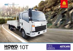 Howo Sinotruck Camion Para 10 Ton Precio Leasing