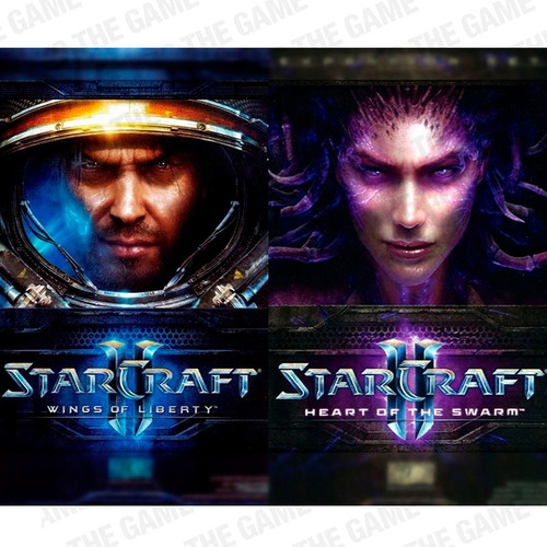 Starcraft 2 Heart Of The Swarm + Wings Of Liberty 2x1 Pc Dvd