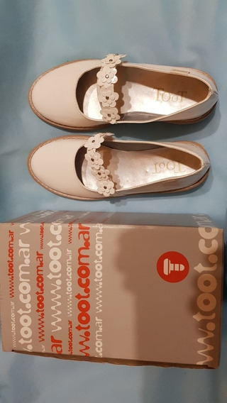 Zapatos Blancos Toot N°33