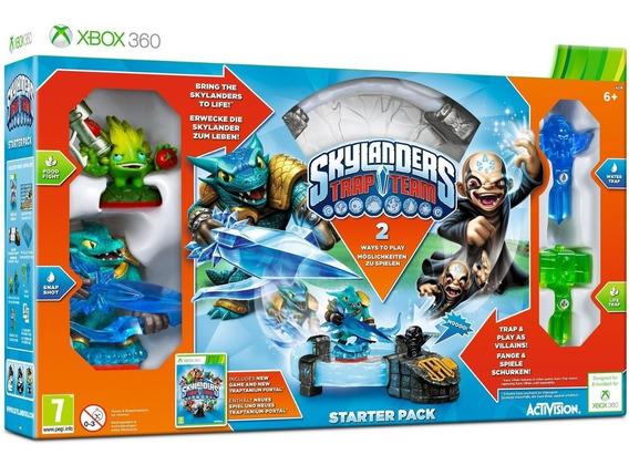 Pacote Inicial Skylanders Trap Team Starter Pack De Xbox 360