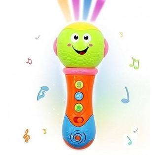Microfono Proyector Musical Dreams Con Luces Y Sonidos