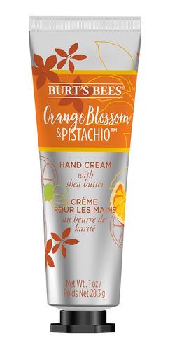 Crema De Manos Burt's Bees Flor De Naranja Y Pistacho 28gr