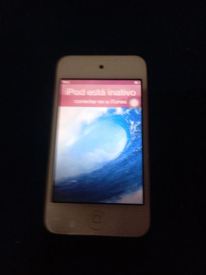 Apple iPod Touch Com Câmera 8 Gb Defeito