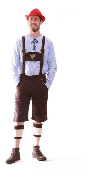 Jardineira Oktoberfest (traje Típico Alemão Masculino)