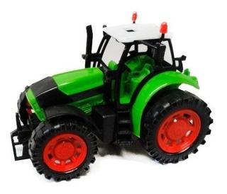 Tractor Chico Vehiculo Para El Agro 10 X 16 Cm Ploppy 374796