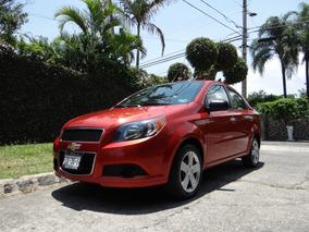 Chevrolet Aveo 1.6 Ltz Automatico Factura Agencia A Mi Nombr