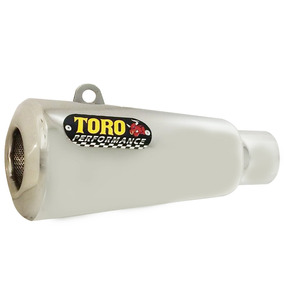Escape Toro T-2 Aço Inox 304 Honda Cg 150 Ks/es Até 2008 005