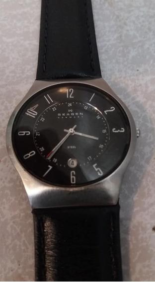 Relógio Skagen Mod. 233xxlslb/3pn (faço 230 Reais À Vista)