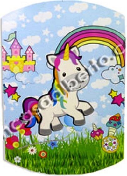 Cotillon Unicornio 20 Chicos Vaso Plato Piñata Mantel Afiche