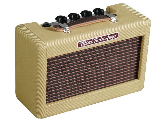 Mini Amplificador Fender Mini Twin 57 Tweed Para Guitarra