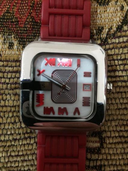 Reloj Tous Oto Lite Color Rojo