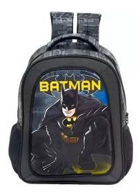 Mochila De Costas Infantil 16 Batman Dark Light Original
