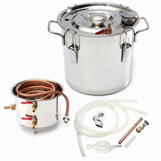 Caldera Destiladora Doméstica Agua Acero Inoxidable 8gal 30l