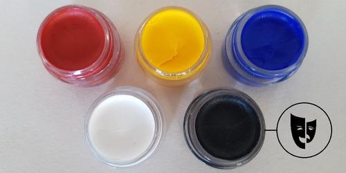 Base Cremosa Maquillaje Titi Mini Pote 5gr Negro