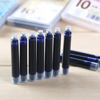 Jinhao Cartuchos Pluma Estilografica 10 Pzas Azul Ln-019a