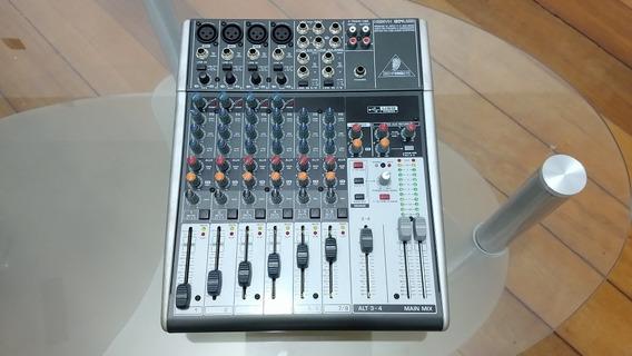 Mesa De Som Áudio Behringer Xenyx 1204usb 8 Canais
