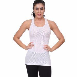 Blusa Malla Larga Color Blanco Talla Unica Marca Bakano