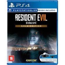 Resident Evil 7 Gold Edition Ps4 Mídia Física