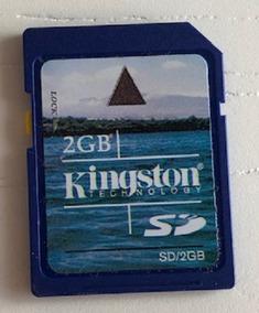 Cartão De Memória Kingston 2 Gb Com Estojo