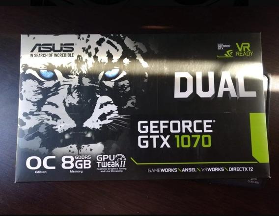 Nvidia Geforce Gtx 1070 8gb Asus Dual