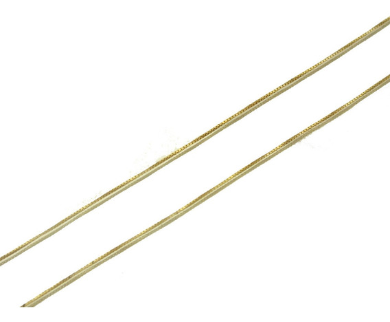 Oferta Corrente Colar Fina Elo Veneziano 40cm Ouro 18k J9446