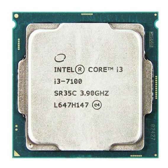 Processador Intel Core i3-7100 2 núcleos 64 GB
