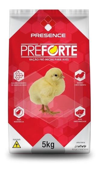 Kit 3 Unid. Ração Pintinhos Préforte Pré-inicial 23% 5kg