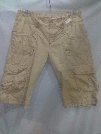 Bermuda Dkny Jeans Para Mujer Talla 4 Mediana Ropa Americana