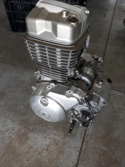 Motor Honda Titan 150 Completo Com Partida Elétrica