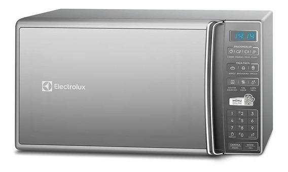 Microondas Electrolux MS37R prata 27L 110V