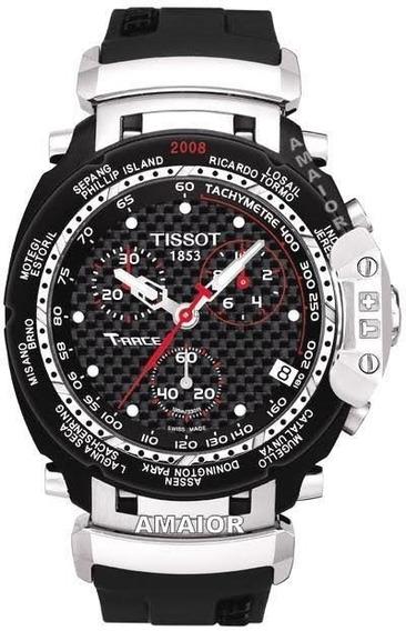 Relógio Tissot T-race Moto Gp Preto / Prata