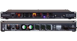 Matrix Gt1000fx-1u Poder Para Guitarra, Axe Fx O Kemper