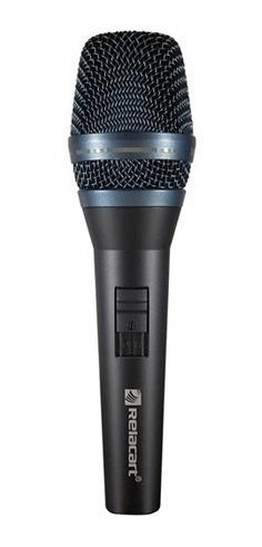 Microfone Reclacart Dinâmico Cardióide Com Fio Sm300 Novo!