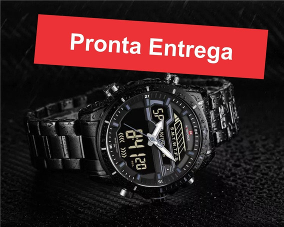 Relógios Masculinos Naviforce Luxo Esportivo Original