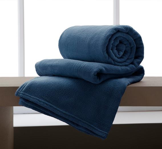 Manta Home Design Microfibra Casal Cobertor Quentinho